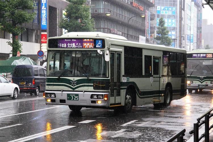 京都市交通局 京都200か・325 三菱KL-MP37JK