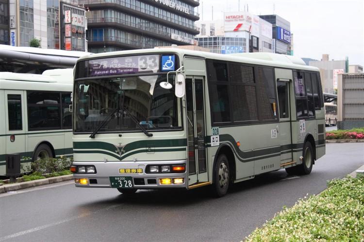 京都市交通局 京都200か・328 三菱KK-MJ26HF