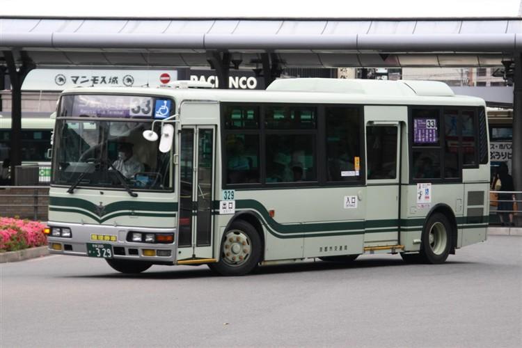 京都市交通局 京都200か・329 三菱KK-MJ26HF