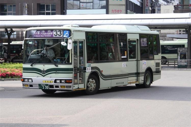京都市交通局 京都200か・330 三菱KK-MJ26HF