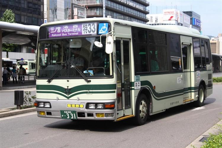 京都市交通局 京都200か・331 三菱KK-MJ26HF