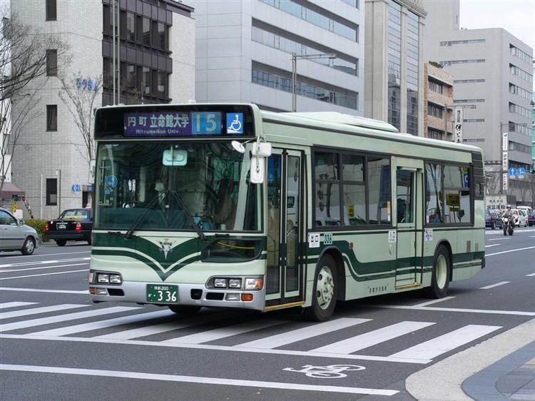 京都市交通局 京都200か・336 日野KL-HU2PMEE