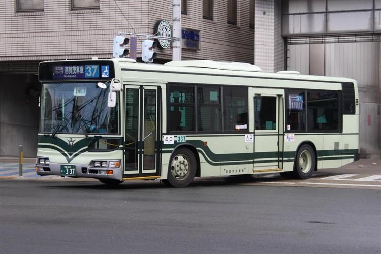 京都市交通局 京都200か・337 日野KL-HU2PMEE