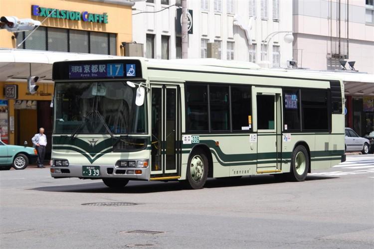 京都市交通局 京都200か・339 日野KL-HU2PMEE