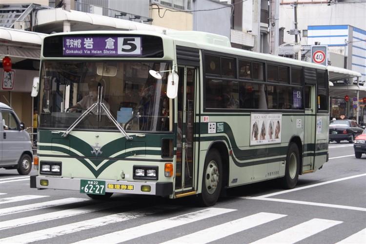 6227_2009-05-21_IMG106_1507.jpg 京都市交通局6227 日野KC-HU2MLCA