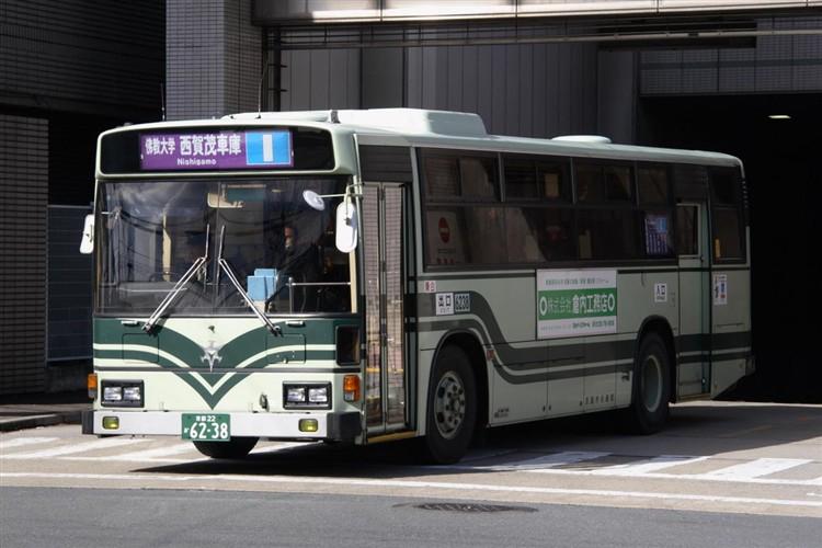 京都市交通局6238 日野KC-HU2MLCA