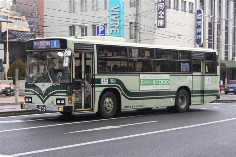 京都市交通局6239 日野KC-HU2MLCA