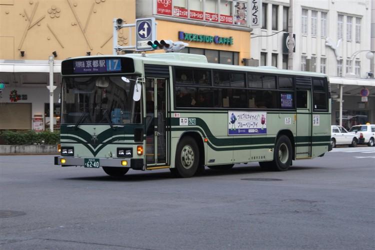 京都市交通局6240 日野KC-HU2MLCA
