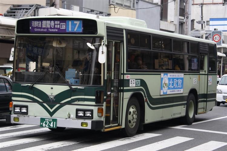 京都市交通局6241 日野KC-HU2MLCA
