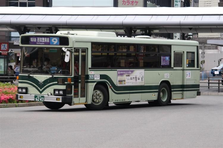 京都市交通局6243 日野KC-HU2MLCA