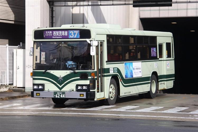 京都市交通局6244 日野KC-HU2MLCA