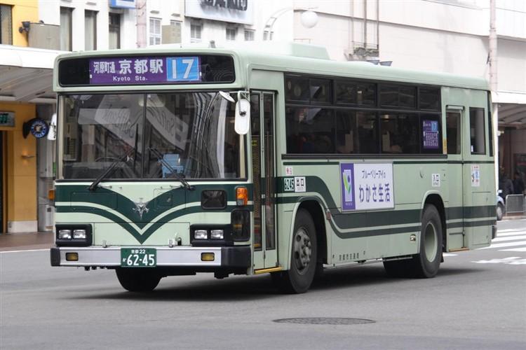 京都市交通局6245 日野KC-HU2MLCA
