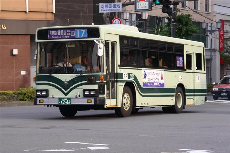 京都市交通局6246 日野KC-HU2MLCA
