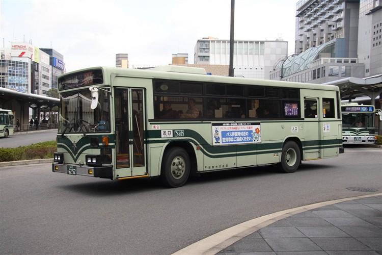 京都市交通局6252 日デKC-UA460HAN
