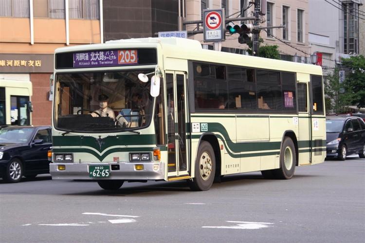 京都市交通局6265 いすゞKC-LV280L