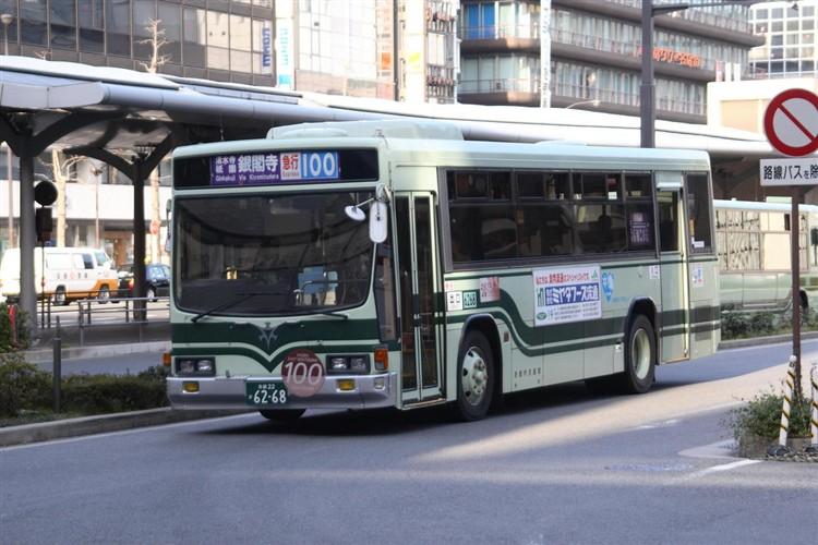京都市交通局6268 いすゞKC-LV280L