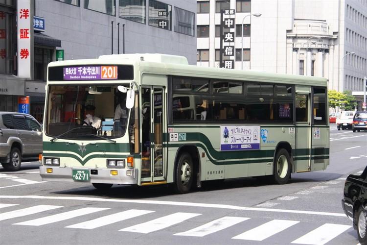 京都市交通局6271 いすゞKC-L280L