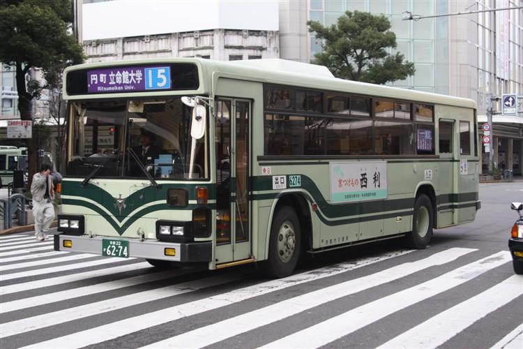 京都市交通局6274 日野KC-HU2MLCA