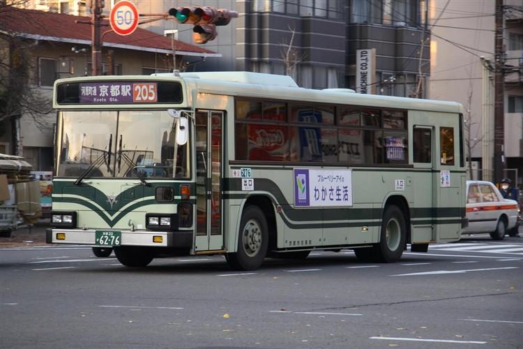 京都市交通局6276 三菱KC-MP617K