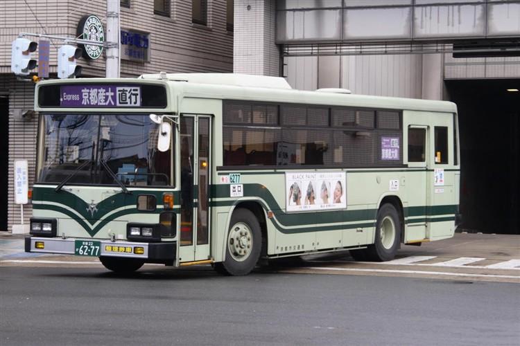 京都市交通局6277 三菱KC-MP617K