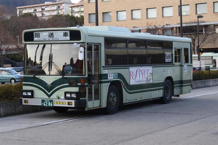 京都市交通局6286 三菱KC-MP617K