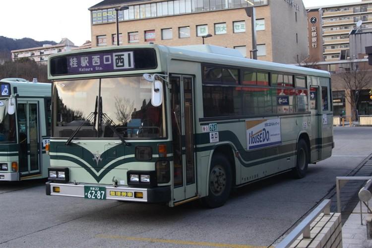 京都市交通局6287 三菱KC-MP617K