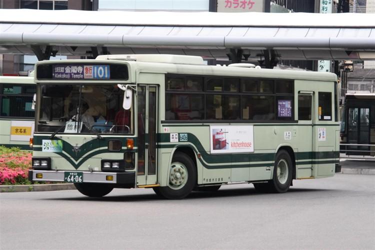 京都市バス6406 日デKC-UA460HAN