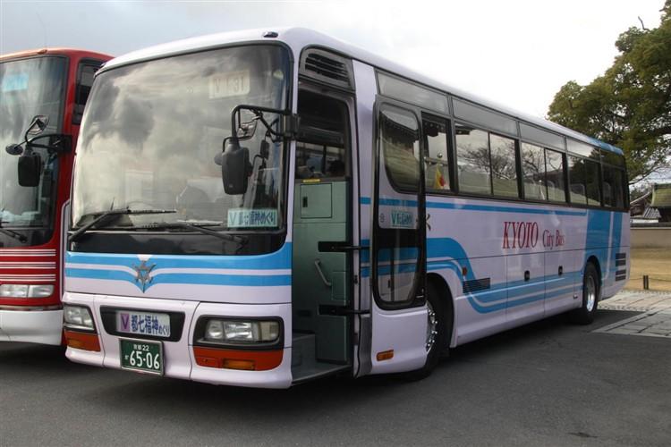 京都市バス6506 いすゞKC-LV781R1