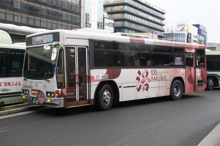 京都市バス6509 いすゞNE-LV288L
