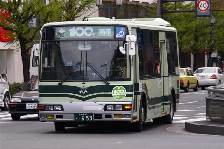 京都市交通局 京都200か・653 三菱KK-MJ27HL