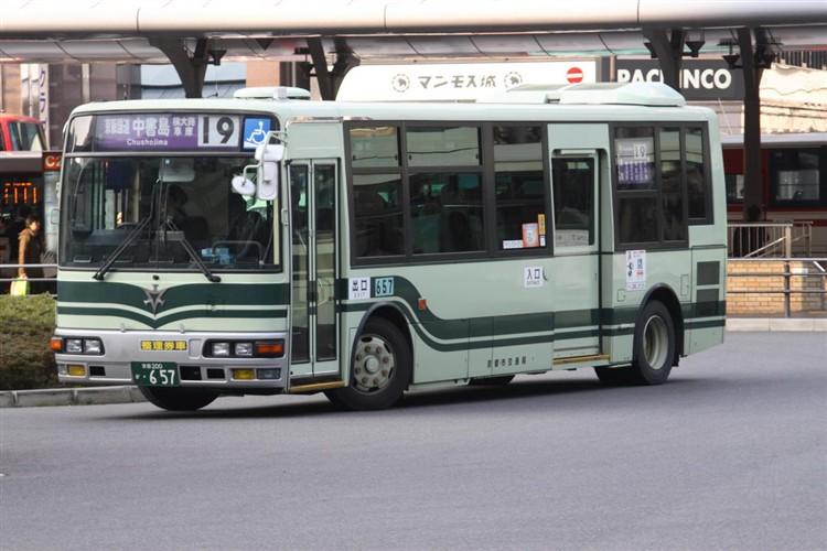 京都市交通局 京都200か・657 三菱KK-MJ27HL