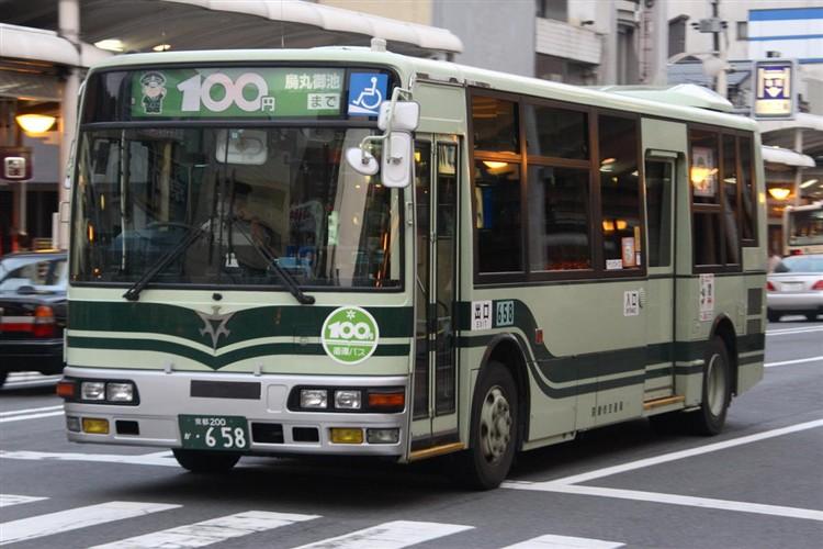 京都市交通局 京都200か・658 三菱KK-MJ27HL