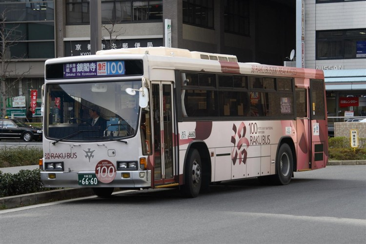 京都市交通局6660 いすゞNE-LV288L