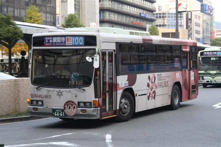 京都市交通局6661 いすゞNE-LV288L