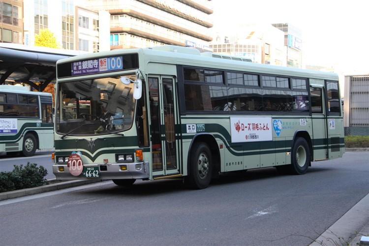 京都市交通局6662 いすゞNE-LV288L
