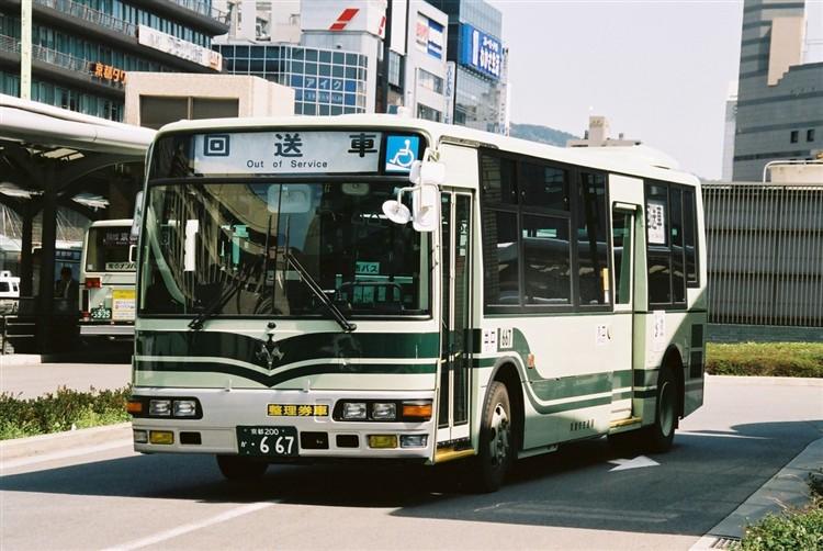 京都市交通局 京都200か・667 三菱KK-MJ27HL