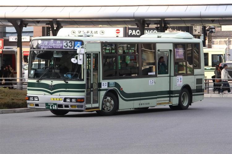 京都市交通局 京都200か・668 三菱KK-MJ27HL