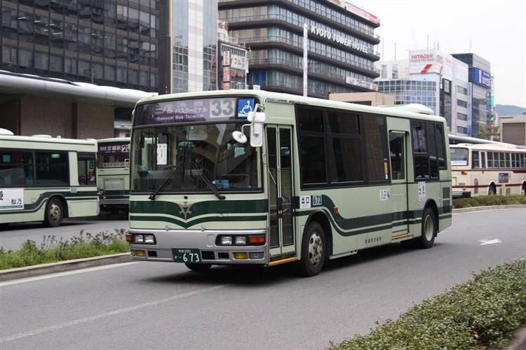 京都市交通局 京都200か・673 三菱KK-MJ27HL