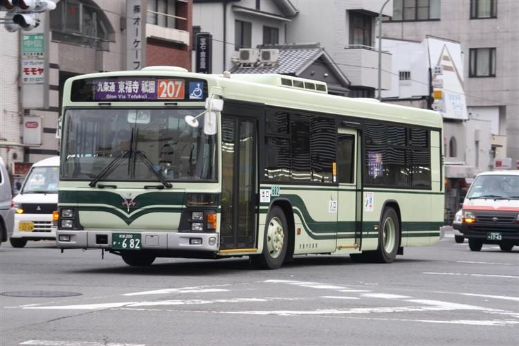 京都市交通局 京都200か・682 いすゞKL-LV834L1