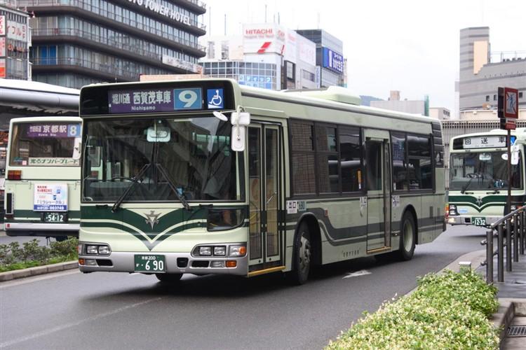 京都市交通局 京都200か・690 日野KL-HU2PMEE