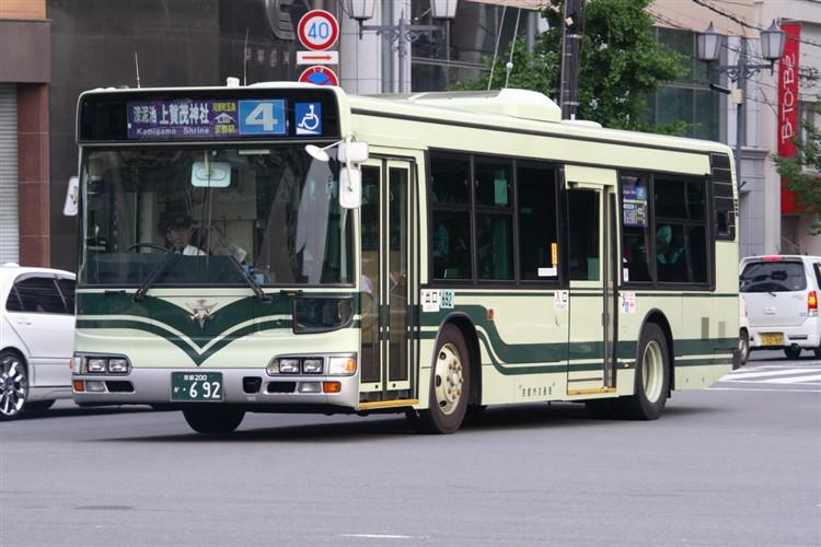 京都市交通局 京都200か・692 日野KL-HU2PMEE