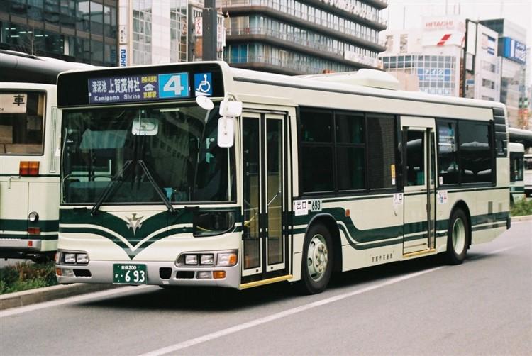 京都市交通局 京都200か・693 日野KL-HU2PMEE