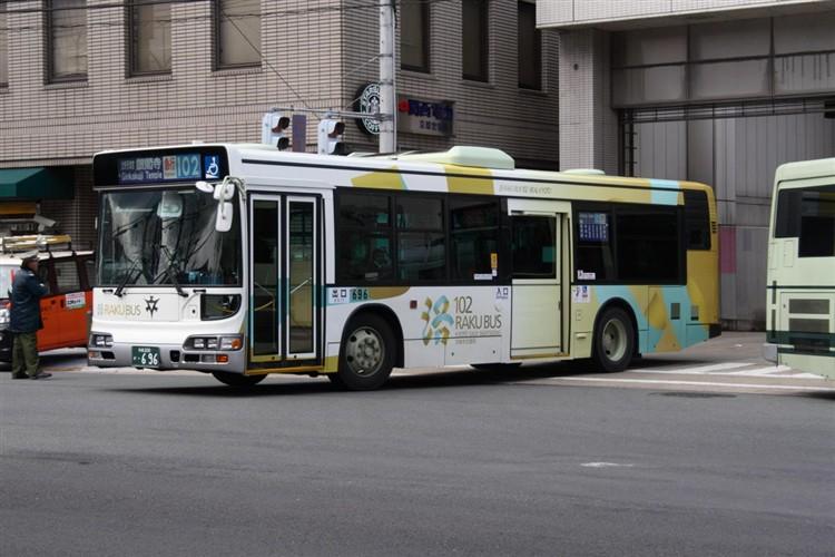 京都市交通局 京都200か・696 日野KL-HU2PMEE