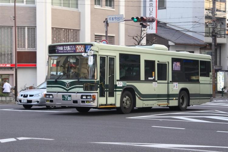 京都市交通局 京都200か・700 日デKL-UA272KAM改