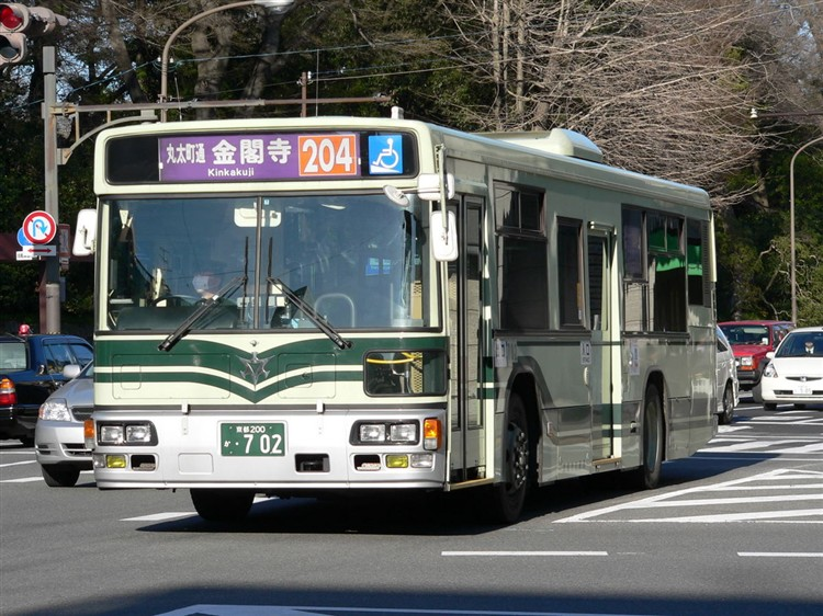 京都市交通局 京都200か・702 日デKL-UA272KAM改