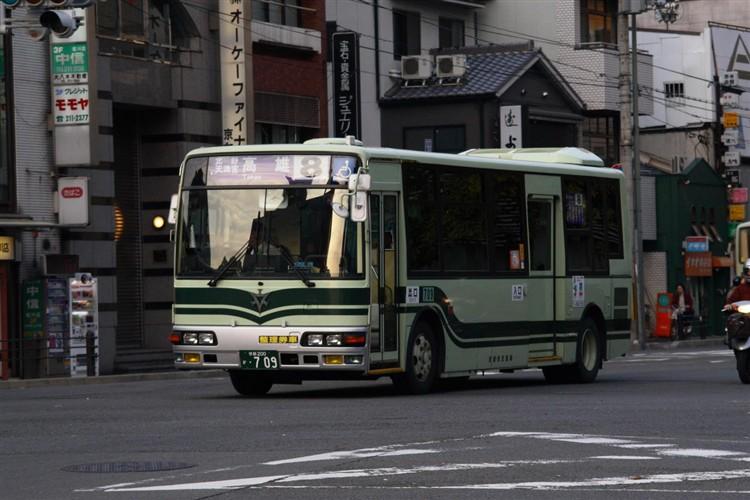京都市交通局 京都200か・709 三菱KK-MJ27HL