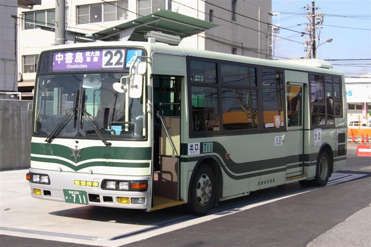 京都市交通局 京都200か・711 三菱KK-MJ27HL
