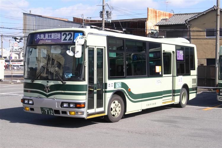 京都市交通局 京都200か・712 三菱KK-MJ27HL