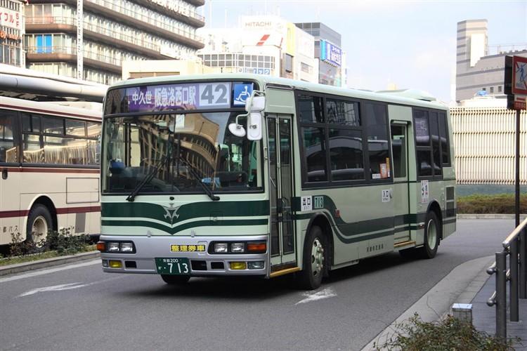 京都市交通局 京都200か・713 三菱KK-MJ27HL