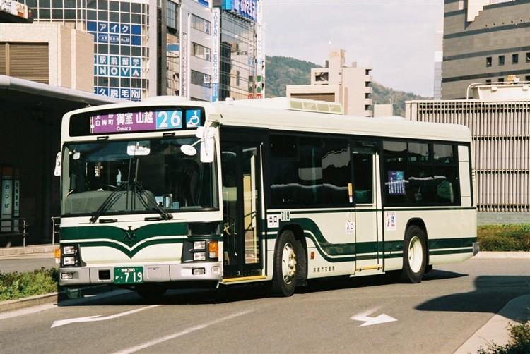 京都市交通局 京都200か・719 いすゞKL-LV834L1